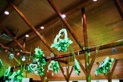 Διακόσμηση των λουλουδιών στη δεξίωση γάμου, floral διακόσμηση Στοκ Φωτογραφίες
