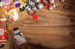 Διακόσμηση χαιρετισμού καρτών Χριστουγέννων Στοκ φωτογραφία με δικαίωμα ελεύθερης χρήσης