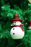 Διακόσμηση χιονανθρώπων στοκ φωτογραφία με δικαίωμα ελεύθερης χρήσης