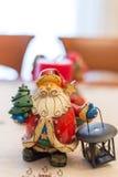 Διακόσμηση Χριστουγέννων - Άγιος Βασίλης Στοκ Φωτογραφίες