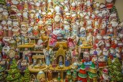 Διακόσμηση Χριστουγέννων αριθμού Άγιου Βασίλη στοκ φωτογραφίες