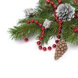 Διακόσμηση Χριστουγέννων. Διακοσμήσεις διακοπών Στοκ Εικόνα