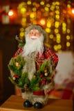 Διακόσμηση Χριστουγέννων και fir-tree Στοκ Φωτογραφίες
