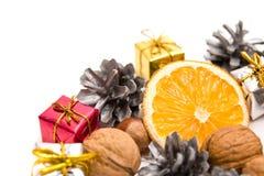 διακόσμηση Χριστουγέννων παραδοσιακή στοκ φωτογραφία
