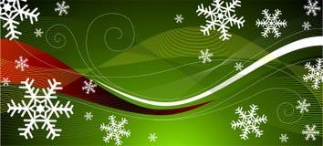 διακόσμηση Χριστουγέννων πράσινη απεικόνιση αποθεμάτων