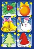 Διακόσμηση Χριστουγέννων διανυσματική απεικόνιση