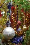 διακόσμηση Χριστουγέννω&nu Στοκ Εικόνα