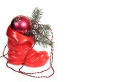 διακόσμηση Χριστουγέννω&nu Στοκ φωτογραφίες με δικαίωμα ελεύθερης χρήσης
