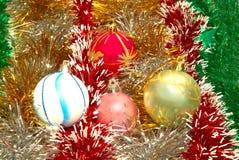 διακόσμηση Χριστουγέννω&nu Στοκ εικόνα με δικαίωμα ελεύθερης χρήσης