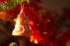 Διακόσμηση χριστουγεννιάτικων δέντρων στοκ φωτογραφίες με δικαίωμα ελεύθερης χρήσης