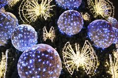 Διακόσμηση χριστουγεννιάτικων δέντρων σε Wroclaw Στοκ εικόνα με δικαίωμα ελεύθερης χρήσης
