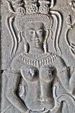 Διακόσμηση Apsaras, Καμπότζη Στοκ Εικόνες