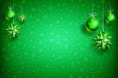 Διακόσμηση background2-03 σφαιρών Χριστουγέννων Στοκ Εικόνες