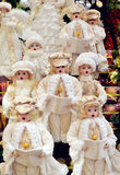 Διακόσμηση Carolers Χριστουγέννων Στοκ φωτογραφίες με δικαίωμα ελεύθερης χρήσης