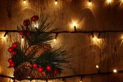 Διακόσμηση Christmastime Στοκ Φωτογραφίες
