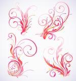 διακόσμηση floral απεικόνιση αποθεμάτων
