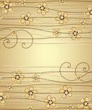 διακόσμηση floral Στοκ εικόνες με δικαίωμα ελεύθερης χρήσης