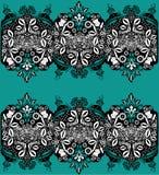 διακόσμηση floral Στοκ Εικόνες