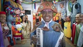 Διακόσμηση Olinda ` s καρναβάλι στοκ εικόνα με δικαίωμα ελεύθερης χρήσης