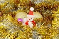 Διακόσμηση Santa παιχνιδιών Στοκ Εικόνα