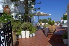 Διακόσμηση Santorini Στοκ Εικόνες