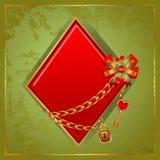 Διαμάντια πόκερ Στοκ εικόνα με δικαίωμα ελεύθερης χρήσης