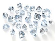 διαμάντια Στοκ Εικόνες