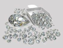 Διαμάντια, brilliants 9 Στοκ εικόνα με δικαίωμα ελεύθερης χρήσης