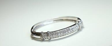 διαμάντι βραχιολιών Στοκ Εικόνα