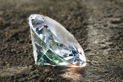 διαμάντι λαμπρό Στοκ φωτογραφία με δικαίωμα ελεύθερης χρήσης