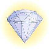 διαμάντι Στοκ φωτογραφία με δικαίωμα ελεύθερης χρήσης