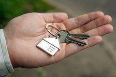 Διαμέρισμα για την πώληση και τον εγκαίνια σπιτιού Στοκ εικόνες με δικαίωμα ελεύθερης χρήσης