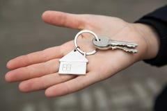 Διαμέρισμα για την πώληση και τον εγκαίνια σπιτιού Στοκ Εικόνα