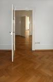 Διαμέρισμα σε ένα παλαιό κτήριο Στοκ φωτογραφία με δικαίωμα ελεύθερης χρήσης