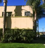 Διαμέρισμα σε Καλιφόρνια του Δυτικού Χόλιγουντ Στοκ εικόνες με δικαίωμα ελεύθερης χρήσης