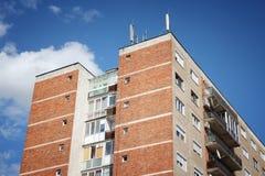 Διαμέρισμα buildin στη Ρουμανία Στοκ Φωτογραφία