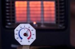 Διαμέτρημα θερμοκρασίας στοκ φωτογραφία