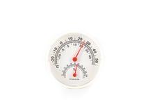 Διαμέτρημα θερμομέτρων και υγρομέτρων στοκ φωτογραφία με δικαίωμα ελεύθερης χρήσης