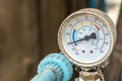 Διαμέτρημα πίεσης νερού στοκ φωτογραφία με δικαίωμα ελεύθερης χρήσης