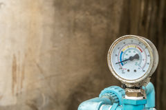Διαμέτρημα πίεσης νερού στοκ εικόνες
