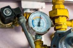 Διαμέτρημα πίεσης νερού στοκ εικόνα με δικαίωμα ελεύθερης χρήσης