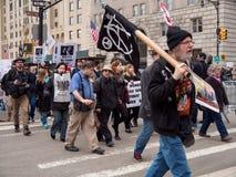 Διαμαρτυρία ατού Στοκ Εικόνες