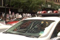 Διαμαρτυρία για την εβραϊκή προσβολή στις σιωνιστείς επιθέσεις στην Παλαιστίνη Στοκ φωτογραφία με δικαίωμα ελεύθερης χρήσης