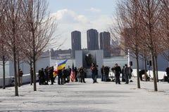 Διαμαρτυρία ενάντια στην εισβολή Crimeas Στοκ φωτογραφίες με δικαίωμα ελεύθερης χρήσης