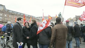 Διαμαρτυρία ενάντια στην επέκταση της «κατάστασης της έκτακτης ανάγκης» φιλμ μικρού μήκους