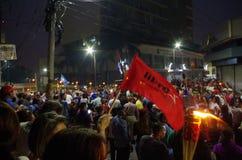 Διαμαρτυρία ενάντια στη δωροδοκία στην Ονδούρα ενάντια στο Juan Ορλάντο Hernandez 9 στοκ φωτογραφία με δικαίωμα ελεύθερης χρήσης
