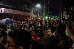 Διαμαρτυρία ενάντια στη δωροδοκία στην Ονδούρα ενάντια στο Juan Ορλάντο Hernandez 7 στοκ εικόνες με δικαίωμα ελεύθερης χρήσης
