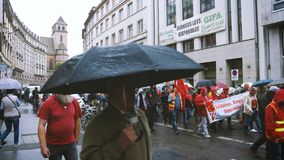 Διαμαρτυρία οδών στη Γαλλία ενάντια στις μεταρρυθμίσεις Macron φιλμ μικρού μήκους