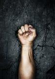 διαμαρτυρία πυγμών Στοκ εικόνα με δικαίωμα ελεύθερης χρήσης