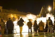 διαμαρτυρία Ρουμανία Στοκ Φωτογραφία